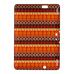 Abstract Lines Seamless Pattern Kindle Fire HDX 8.9  Hardshell Case