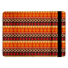 Abstract Lines Seamless Pattern Samsung Galaxy Tab Pro 12.2  Flip Case