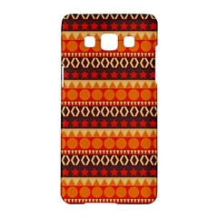 Abstract Lines Seamless Pattern Samsung Galaxy A5 Hardshell Case