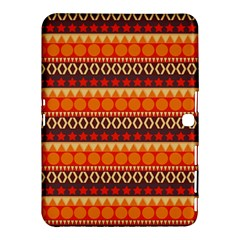 Abstract Lines Seamless Pattern Samsung Galaxy Tab 4 (10 1 ) Hardshell Case