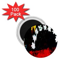 Grunge Abstract In Dark 1 75  Magnets (100 Pack)