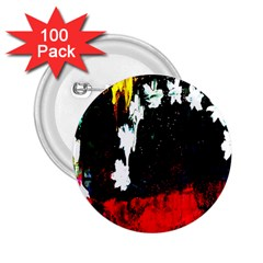 Grunge Abstract In Dark 2 25  Buttons (100 Pack)