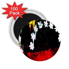 Grunge Abstract In Dark 2.25  Magnets (100 pack)