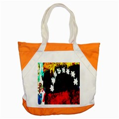 Grunge Abstract In Dark Accent Tote Bag