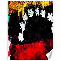Grunge Abstract In Dark Canvas 18  X 24