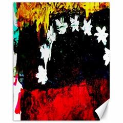 Grunge Abstract In Dark Canvas 11  X 14