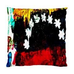 Grunge Abstract In Dark Standard Cushion Case (one Side)