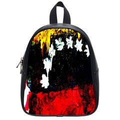 Grunge Abstract In Dark School Bags (small)