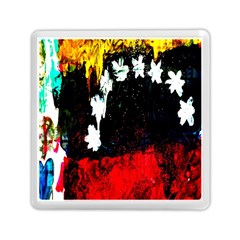 Grunge Abstract In Dark Memory Card Reader (square)