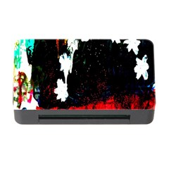 Grunge Abstract In Dark Memory Card Reader With Cf