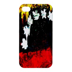Grunge Abstract In Dark Apple iPhone 4/4S Premium Hardshell Case