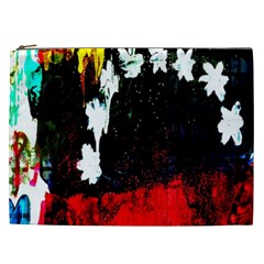 Grunge Abstract In Dark Cosmetic Bag (xxl)