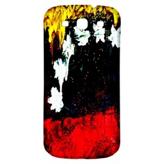 Grunge Abstract In Dark Samsung Galaxy S3 S III Classic Hardshell Back Case