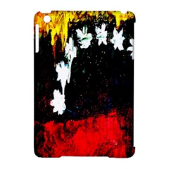 Grunge Abstract In Dark Apple iPad Mini Hardshell Case (Compatible with Smart Cover)