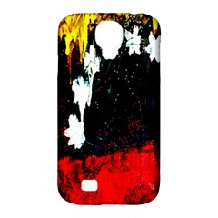 Grunge Abstract In Dark Samsung Galaxy S4 Classic Hardshell Case (PC+Silicone)