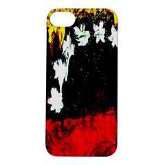 Grunge Abstract In Dark Apple iPhone 5S/ SE Hardshell Case