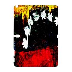 Grunge Abstract In Dark Galaxy Note 1