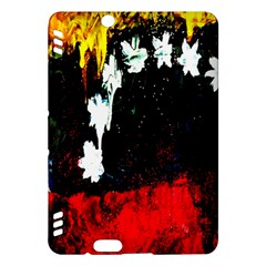 Grunge Abstract In Dark Kindle Fire HDX Hardshell Case