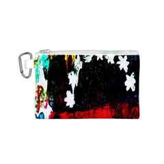 Grunge Abstract In Dark Canvas Cosmetic Bag (S)