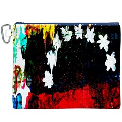 Grunge Abstract In Dark Canvas Cosmetic Bag (XXXL)