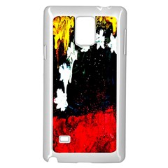 Grunge Abstract In Dark Samsung Galaxy Note 4 Case (White)