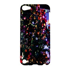 Lit Christmas Trees Prelit Creating A Colorful Pattern Apple iPod Touch 5 Hardshell Case