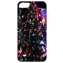 Lit Christmas Trees Prelit Creating A Colorful Pattern Apple Iphone 5 Classic Hardshell Case