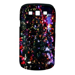 Lit Christmas Trees Prelit Creating A Colorful Pattern Samsung Galaxy S III Classic Hardshell Case (PC+Silicone)