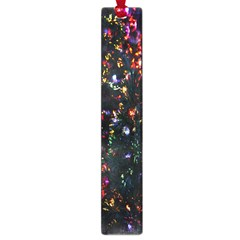 Lit Christmas Trees Prelit Creating A Colorful Pattern Large Book Marks