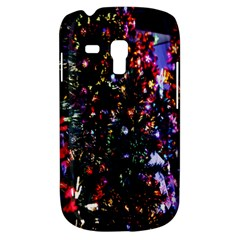 Lit Christmas Trees Prelit Creating A Colorful Pattern Galaxy S3 Mini