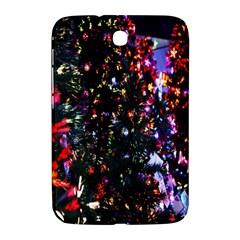 Lit Christmas Trees Prelit Creating A Colorful Pattern Samsung Galaxy Note 8.0 N5100 Hardshell Case