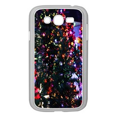 Lit Christmas Trees Prelit Creating A Colorful Pattern Samsung Galaxy Grand Duos I9082 Case (white)