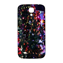 Lit Christmas Trees Prelit Creating A Colorful Pattern Samsung Galaxy S4 I9500/I9505  Hardshell Back Case