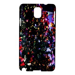 Lit Christmas Trees Prelit Creating A Colorful Pattern Samsung Galaxy Note 3 N9005 Hardshell Case