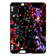 Lit Christmas Trees Prelit Creating A Colorful Pattern Kindle Fire Hdx Hardshell Case