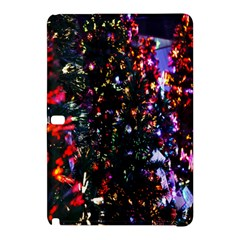 Lit Christmas Trees Prelit Creating A Colorful Pattern Samsung Galaxy Tab Pro 12.2 Hardshell Case