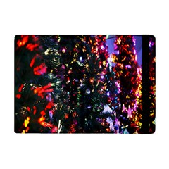 Lit Christmas Trees Prelit Creating A Colorful Pattern iPad Mini 2 Flip Cases