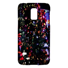 Lit Christmas Trees Prelit Creating A Colorful Pattern Galaxy S5 Mini
