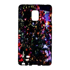 Lit Christmas Trees Prelit Creating A Colorful Pattern Galaxy Note Edge