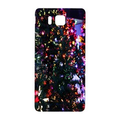 Lit Christmas Trees Prelit Creating A Colorful Pattern Samsung Galaxy Alpha Hardshell Back Case