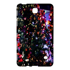 Lit Christmas Trees Prelit Creating A Colorful Pattern Samsung Galaxy Tab 4 (8 ) Hardshell Case