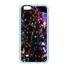 Lit Christmas Trees Prelit Creating A Colorful Pattern Apple Seamless iPhone 6/6S Case (Color)