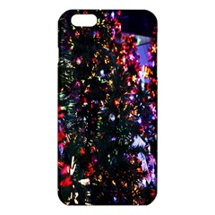 Lit Christmas Trees Prelit Creating A Colorful Pattern Iphone 6 Plus/6s Plus Tpu Case