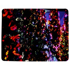 Lit Christmas Trees Prelit Creating A Colorful Pattern Jigsaw Puzzle Photo Stand (Rectangular)