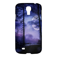 Moonlit A Forest At Night With A Full Moon Samsung Galaxy S4 I9500/i9505 Hardshell Case