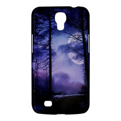 Moonlit A Forest At Night With A Full Moon Samsung Galaxy Mega 6.3  I9200 Hardshell Case