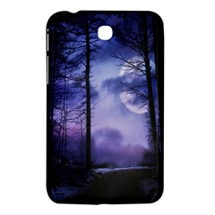 Moonlit A Forest At Night With A Full Moon Samsung Galaxy Tab 3 (7 ) P3200 Hardshell Case