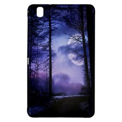 Moonlit A Forest At Night With A Full Moon Samsung Galaxy Tab Pro 8.4 Hardshell Case