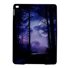 Moonlit A Forest At Night With A Full Moon iPad Air 2 Hardshell Cases