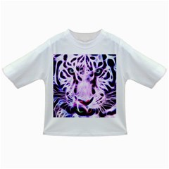 Fractal Wire White Tiger Infant/Toddler T-Shirts